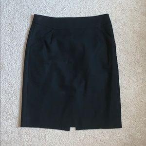 J. Crew the pencil skirt